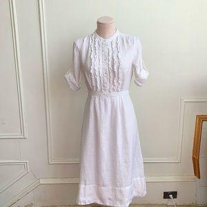 J.Crew Linen Midi Dress